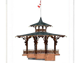 Bandstand, Vancouver - Notecard