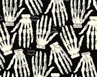 Queen of Ween by Janet Wecker Hands Off Skeleton 1 Yard BTY