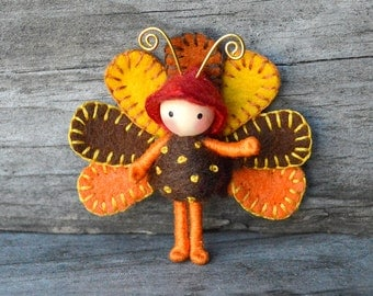 Turkey Bug Tiny Bendy doll