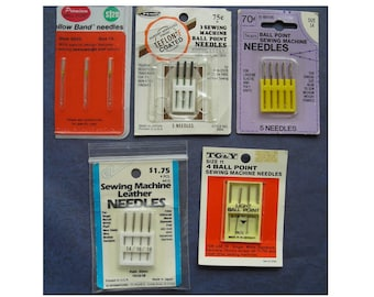 Collection of Sewing vintageMachine Needles