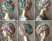 Free Form Crochet Hat