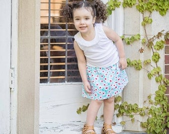 Toddler Girls skirt Oopsy Daisy skirt 2 T - 9 Y Boutique Childrens Clothing