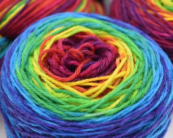 CMY Gradient Hand Dyed Yarn - Made to Order