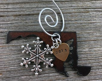 MARYLAND Christmas Ornament, MARYLAND Ornament, Christmas Gifts 2017 Christmas Ornaments, Personalized Gift, MARYLAND Ornaments