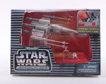 Micro Machines, Star Wars, Vintage, Play Set, Luke, R2-D2, X-Wing, Starfighter ~ The Pink Room ~ 161111