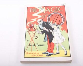 The Magic of Oz, L Frank Baum, Novel, Fantasy, Chapter Book, Vintage Children's Book, Illustrated ~ The Pink Room ~ 161109