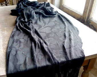 Victorian Era Long Lace Scarf