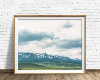 """large colorful landscape photography, large landscape wall art, mountain landscape, large photography art prints - """"To See What I Can See"""""""