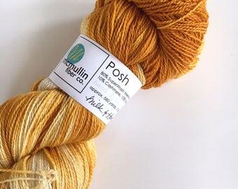 MILK & HONEY Posh Merino Cashmere Sock Yarn