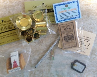 Assorted Vintage Shackman Miniatures LOT new old stock in original packaging