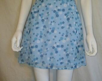 SALE 90s short mini floral skirt