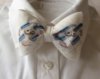 Planning Diagram Pre-Tied Bow Tie,Bow tie,Bow Tie,Ties,Neckties,Groom,Geekery,Prom,