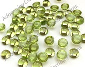 Gemstone Cabochon Peridot 5mm Round FOR TWO