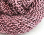 Middlefield Hand Dyed aran weight wool alpaca blend 200 yds 4oz Powder Puff