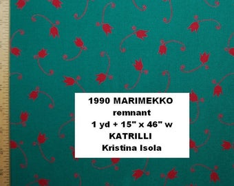 Marimekko HOME dec remnant 1990 Katrilli by Kristina Isola