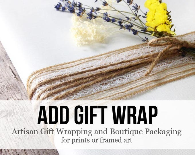 Featured listing image: Gift Wrap Boutique Packaging - Gift Wrapping Service : Add Exclusive Gift Wrap to your Near & Dear gift Christmas, Wrap My Gift