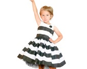 Child Party Dress PDF Sewing Pattern The Feestje Dress Sized 6mo to 12y