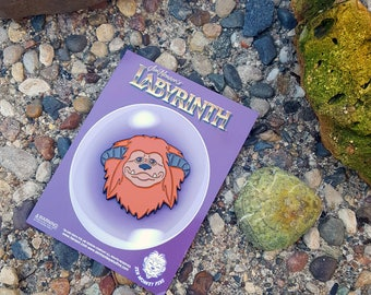 Labyrinth Ludo Enamel Pin Officially Licensed