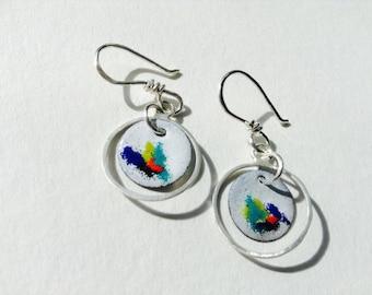 Colour Outside the Lines Earrings