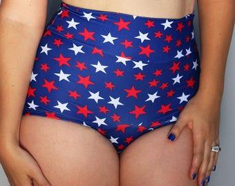 PRE-ORDER Star Spangled Bikini Bottom