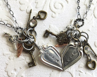 Thelma and Louise BFF Necklace Set