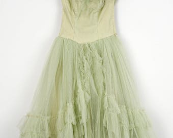 Garden Gala 1950's Party Dress