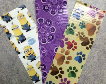 Bookmarks - duck duct tape