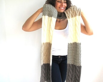 WINTER SALE 4 Colours Scarf Stole by Afra