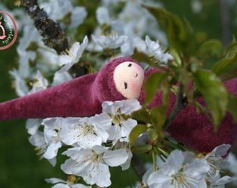 Pocket Gnome - Waldorf Doll - Waldorfdoll - Cuddle Baby according to waldorf pedagogy