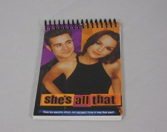 She's All That VHS Cover Notepad