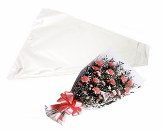 100/pk Floral Cellophane Sleeves- 3x18x12 - 2 sets of 50