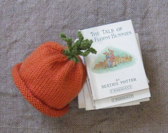 Carrot Hat/Veggie Hat/ Photo Prop or Everyday Use/Spring/Easter/Sizes 0-3 Months - Adult Med