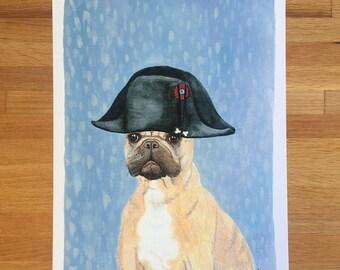 "Napoleon ""Bone"" Apart - Unframed 8.5x11 Limited Edition Giclee Print"