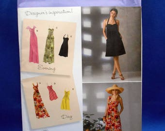 Simplicity 2362, sewing pattern, Misses dresses, day and evening, sizes 6 to 14
