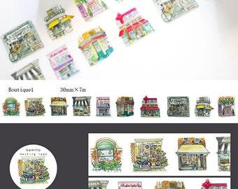 Boutique 1 Washi Tape • Boutique Store Market Kamito Masking Tape (CRM00712)