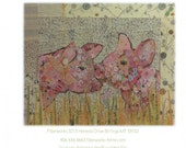 Lola & Olive Collage pattern by Laura Heine