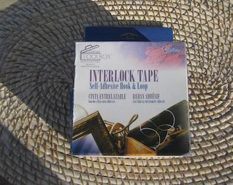 Self Adhesiver Interlock Tape - 3/4 inch wide - 15 feet long