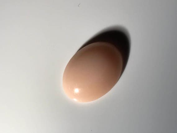 Angel Skin Coral  Oval Cabochon (3.5 ct)