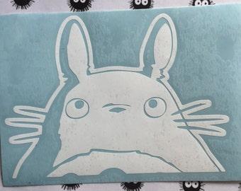 My Neighbor Totoro Inspired Vinyl Decal for Car, Laptop, Tumbler, Yeti, or Decor