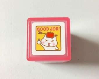 Selfinking Stamp - Good Job Cat by KODOMO NO KAO