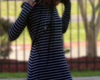Cold Shoulder Tee Dress
