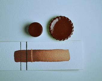 Rust Earth Red, Anthesis Arts Artisanal Handcrafted Watercolor Paints, Choose Your Size
