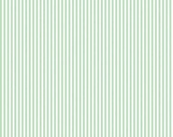 Riley Blake Designs, 1/8 Inch Stripe in SWEETMINT (C495)