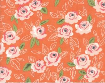 Sugar Pie (5040 18) Orange Wildest Rose by Lella Boutique