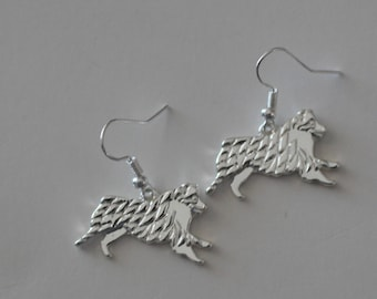 AUSTRALIAN SHEPHERD DOG Earrings - Pet