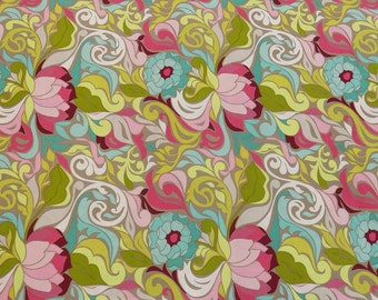 Fabric Retro Riley Blake Sale One Yard - FREE Shipping USA only
