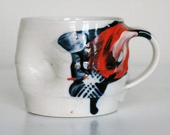 porcelain tea mug