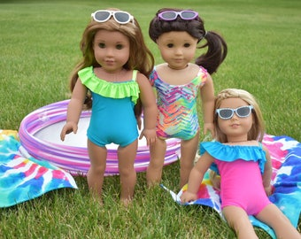 "18"" Doll Swimsuit for American Girl Dolls"