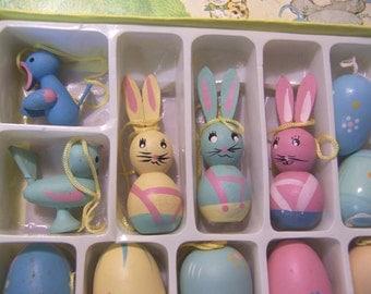super cute bunnies, birds and eggs