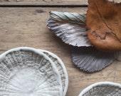 Porcelain Limpet Saucer